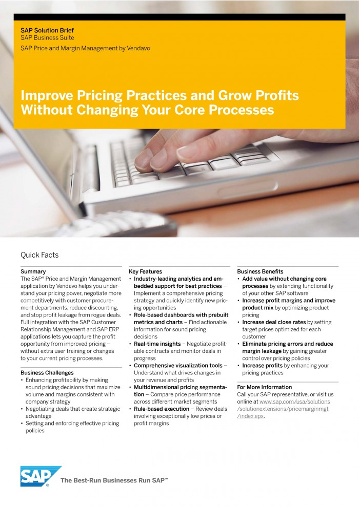 Solution brief improve pricing practices grow profits vendavo 0001 0002 fandeluxe Choice Image